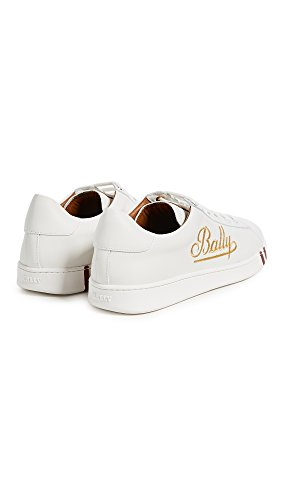 Bally Mens Winston Sneakers Bianco