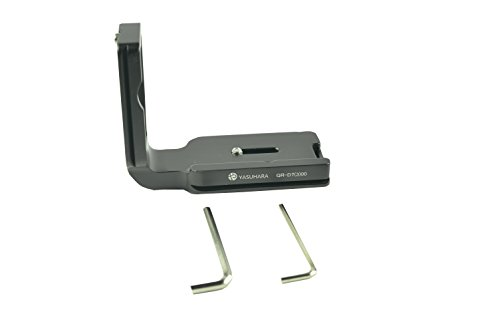 YASUHARA Quick Release L Plate Vertical Shoot Adapter Fit for Nikon D700/300 Body