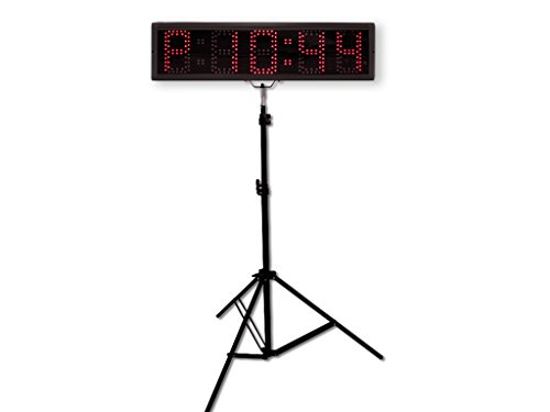 EU 5'' 5 digits RGB(7 Colors) LED Race Timing Clock For Running Events by EU DISPLAY