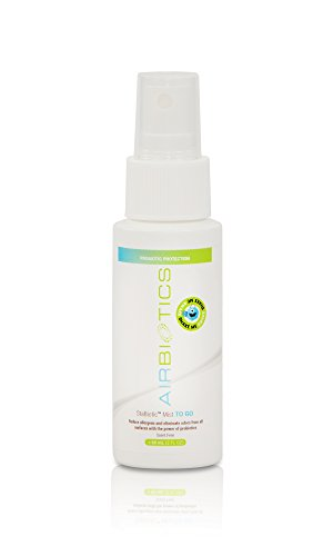 Airbiotics Stabiotics Mist To Go Natural Deodorizer Scent Free Probiotics Travel Spray 2oz by AirBiotics