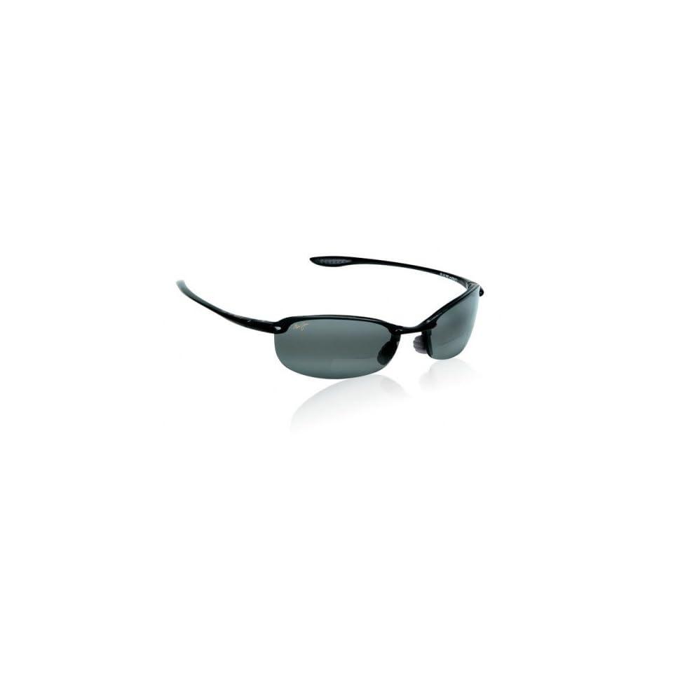 Maui Jim Makaha Gloss Black/Neutral Grey Sunglasses (MJ Makaha 805