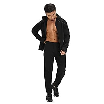 Amazon.com: Men Casual Winter Pure Cotton Tracksuit: Clothing