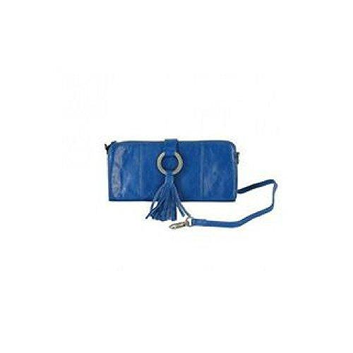 Latico Leather Emmanuelle Clutch - - Blue Emmanuelle