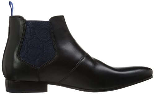 Ted Baker Mens Hourb 2 Lthr Am Noir Chukka Boot Noir