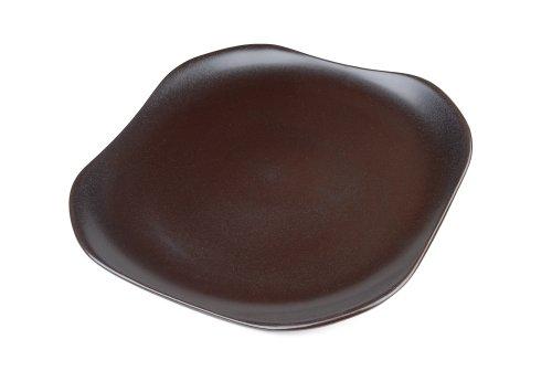 Mikasa Global Cuisine Chocolate Square Platter (Cuisine Chocolate Global)