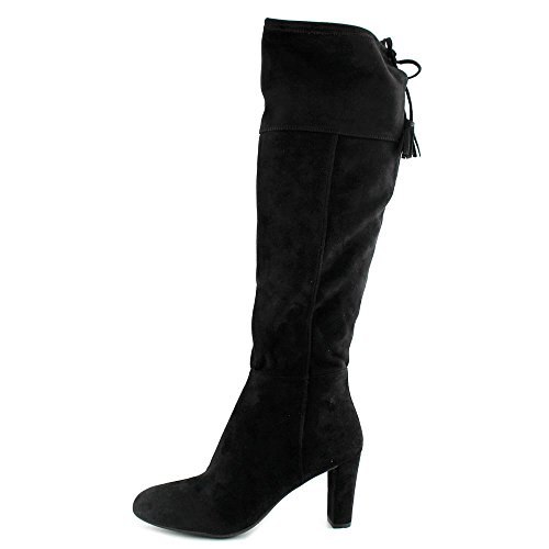 5 US Hadli the INC Boot Women Co International Knee Black Over 5 HqWYI1