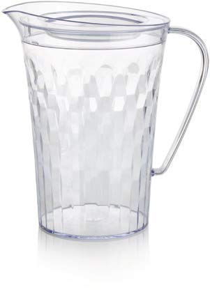 (Tupperware - Ice Prism 2qrt Pitcher - Crystal Clear)