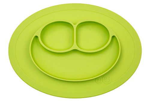 ezpz-mini-mat-one-piece-silicone-placemat-plate-lime-one-size