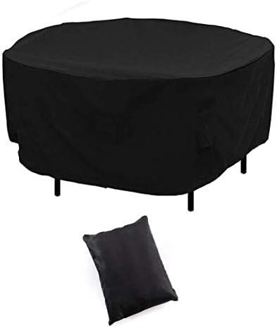 家具カバー ファニチャー テーブルと椅子カバー円卓と椅子カバーテラスラウンドテーブルカバー屋外テラスラウンドテーブルカバー黒表と椅子Cover600Dオックスフォード生地 ガーデン 庭用保護カバー シャンボ14011 (Size : 239*79cm)