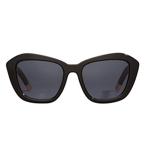 PERVERSE Sunglasses Women's My Darling/Glossy Black/Gold/Black One - Own Glasses Design My