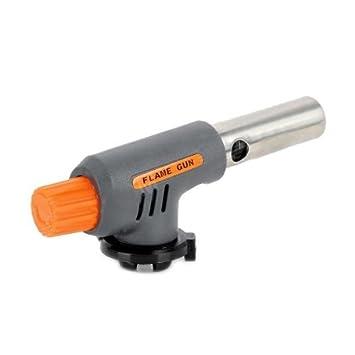 Soldador Soplete Pistola Gas Butano Llama Soldadura Cobre Acero Herramienta Gris: Amazon.es: Juguetes y juegos