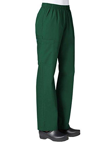 - Maevn Women's Core Full Elastic Band Cargo Pants(Hunter, Medium Petite)