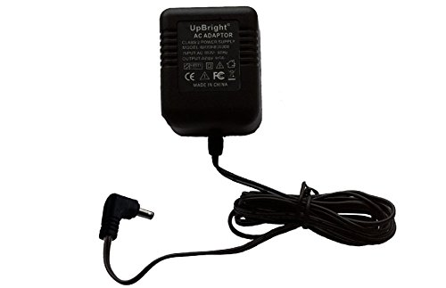 UpBright AC 6V AC-AC Adapter For AT&T ATT CRL82312 CRL82212 CRL81112 CRL82112 CRL30102 CRL32202 CRL32102 CS6919 DECT 6.0 Cordless Phone Extra Handset Charging Cradle AC6V Power(w/Tiny Tip. NOT DC6V.) by UPBRIGHT