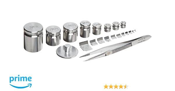 Rice Lake 12518 13 Piece Stainless Steel Calibration Metric Test Weight Set, 1kg - 1g Size, NIST Class F: Amazon.com: Industrial & Scientific