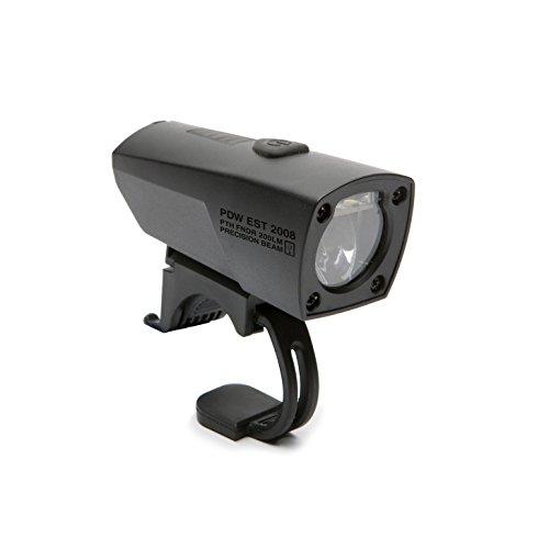 Portland Design Works Pathfinder Vertical Cutoff Beam Headlight, Matte Black