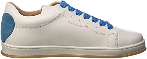 Twin Set Cs8pjj, Sneaker Donna Bianco (Bic.ottico Turchese)