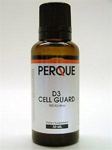 Perque - D3 Cell Guard Liquid 30 ml [Health and Beauty] (Perque Vitamin D compare prices)