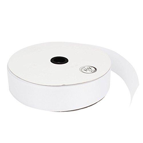 Regalo Fai da te Craf Wrap nastro di raso del rullo larghezza di 3.8cm 100 Yard Bianco