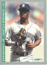 Amazoncom 1993 Fleer Baseball Card 307 Ken Griffey Jr