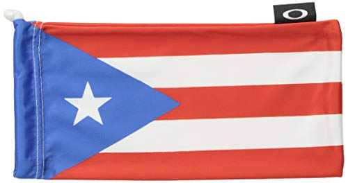 Oakley Country Flag Microbag Sunglass Accessories - Puerto Rico Flag/One ()