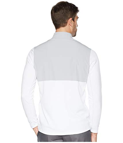 NIKE Men's Dry Top Half Zip core Golf Top (White/Wolf Grey, XXX-Large) by NIKE (Image #3)