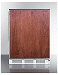 Summit VT65M7BIFRADA Upright Freezer, Brown