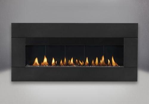 Cheap Plazmafire 48 DV Electric Ignition Fireplace w/Black Surround - NG Black Friday & Cyber Monday 2019