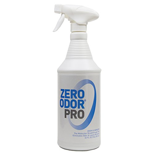Zero Odor Pro - Commercial Strength Odor Eliminator - Neutralizer - Deodorizer - Smell Remover - Trigger Spray (32-ounce)