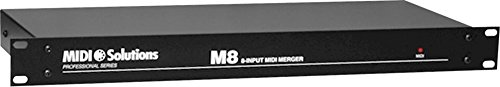 MIDI Solutions M8 8-Input MIDI Merger by MIDI Solutions