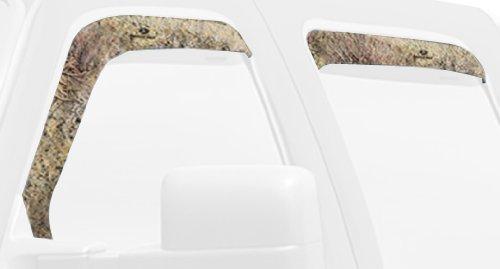 Mossy Oak Graphics 10008-WV-BR Brush Camouflage Window Visor Accent Kit