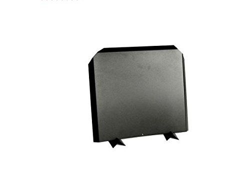 Stainless Steel Firebacks, Painted Black - 16