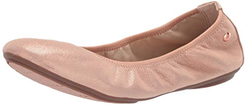 Hush Puppies Women's Chaste Ballet Pump Pale Peach Leather 7 M US