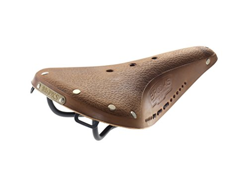 Brooks Saddles B17 Bicycle Saddle (Women's, Aged Tan with Black Laces) Brooks Leather Saddle