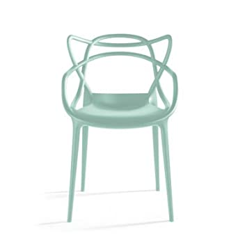 Kartell 586514 Stuhl Masters, Salbeigrün