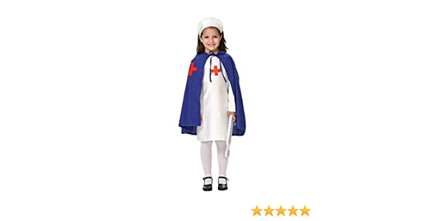 DISBACANAL Disfraz Enfermera niña - -, 6 años: Amazon.es: Juguetes ...