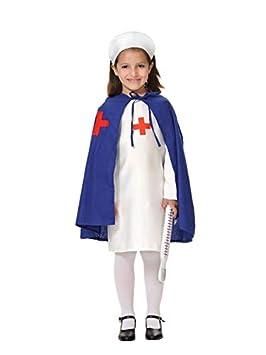DISBACANAL Disfraz Enfermera niña - Único, 4 años: Amazon.es ...