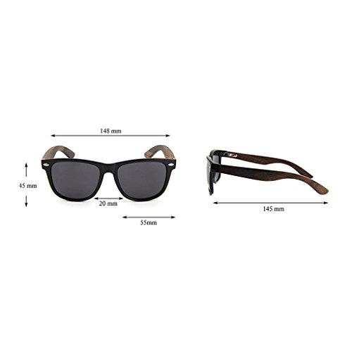 Tonos 2 de duplicado de Marco de polarizadasDos Efecto Madera Dos TP Brillo Gafas Color de Madera Sol de 1 zxwZUZ0
