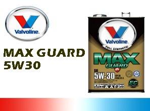 Valvolin/バルボリン エンジンオイル Max Guard SN/マックスガ-ド 5W30/5W-30 EC 20Lペール缶 B00FKSA78C