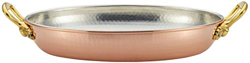 Ruffoni Historia Decor 3-1/2-Quart Au Gratin Baking Dish, Copper