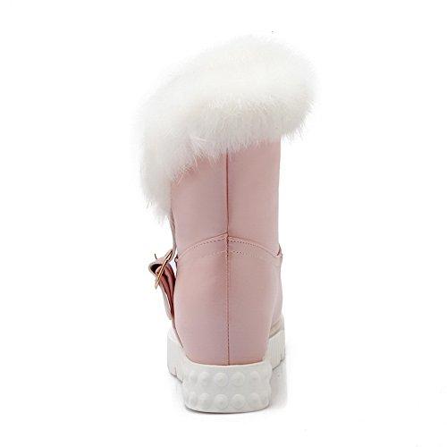 35 pink Neve amp;n A Rosa Da Donna Stivali qgYFH6x0
