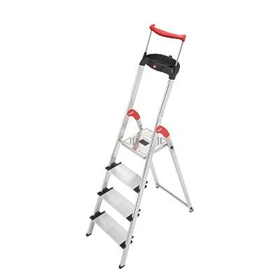 Hailo 8854-281 XXR 4 Step Aluminum Ladder