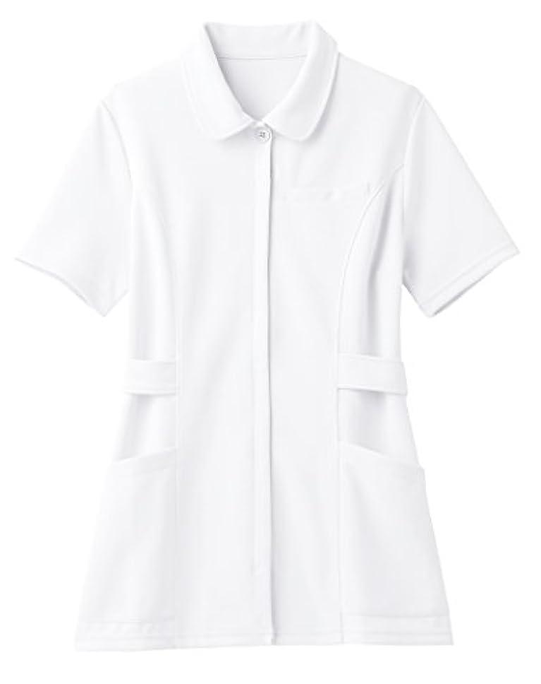 アクロバット愛途方もない(ララスキル)LALA SKILL 医療 白衣 スタンダードなショールカラーのナース服 [制菌/吸汗速乾] F-9005