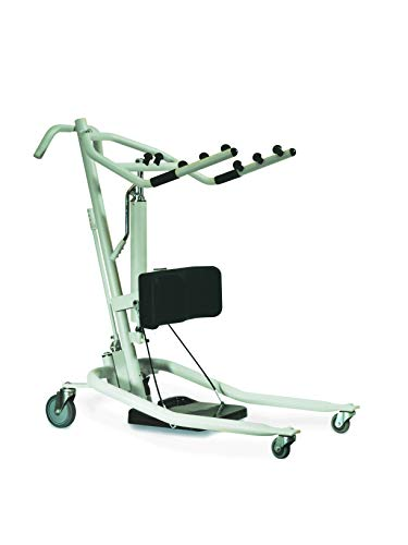 Invacare Get-U-Up Hydraulic Stand-Up Patient Lift, 350 lb. Weight Capa