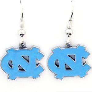 6d3deeccb29 Amazon.com : North Carolina Tar Heels - UNC Dangle Earrings - NCAA ...