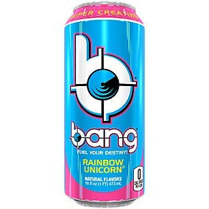 VPX Bang, Rainbow Unicorn, 16 Ounce Cans (12 Pack)      ()