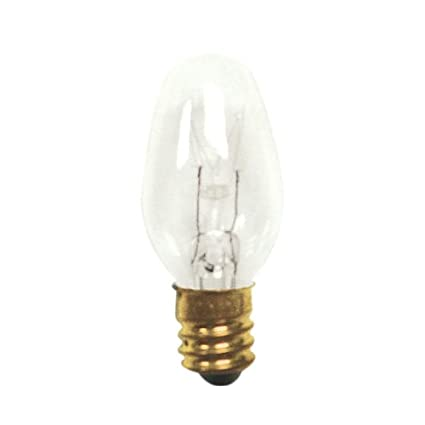 Base with Candelabra Screw 75 Pack Bulbrite 861326 5 W Dimmable C7 Shape Incandescent Bulb E12