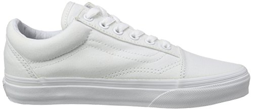 Mixte Vans Basses Blanc Old true White Adulte Skool Baskets I6qrfw6g