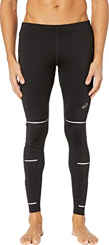 ASICS Men's Lite-Show Winter Tights, Medium, Performance Black