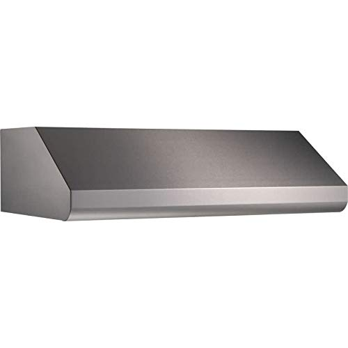 Elite Series 48 In. Pro-Style Under Cabinet Range Hood Shell for 1-Way External Blower - Stainless Steel