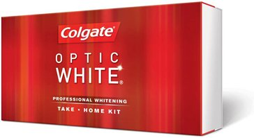 Colgate Optic White Gel Professional Whitening Take-home Kit (White Whitening Kit)